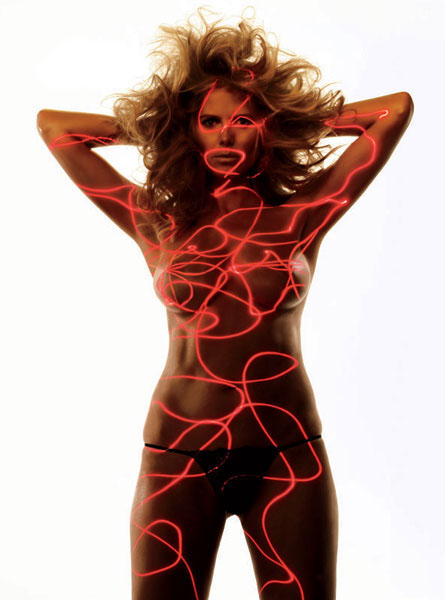 Хайди Клум топлесс в журнале Allure (апрель 2010) / Heidi Klum topless pictures from Allure magazine (april 2010)